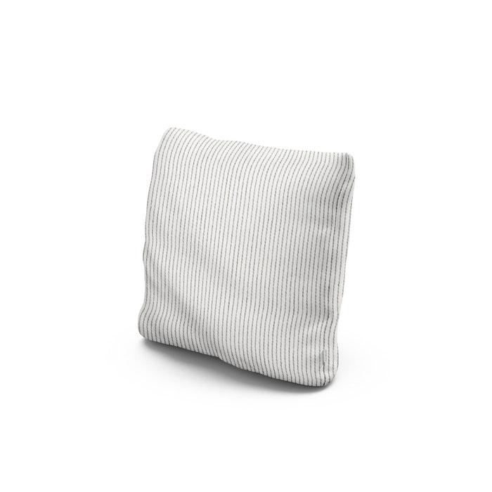 """16"""" Outdoor Throw Pillow in Linus Metal"""
