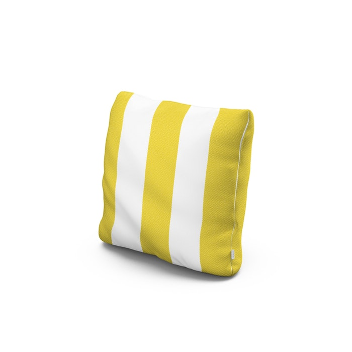 """16"""" Outdoor Throw Pillow in Montdor Canary"""