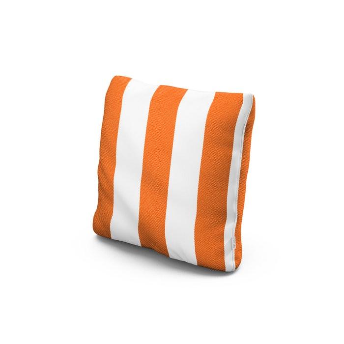 """18"""" Outdoor Throw Pillow in Montdor Mango"""