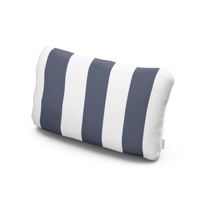 Outdoor Lumbar Pillow in Montdor Navy