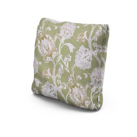 """22"""" Outdoor Throw Pillow in Botanical Gardens Pistachio"""