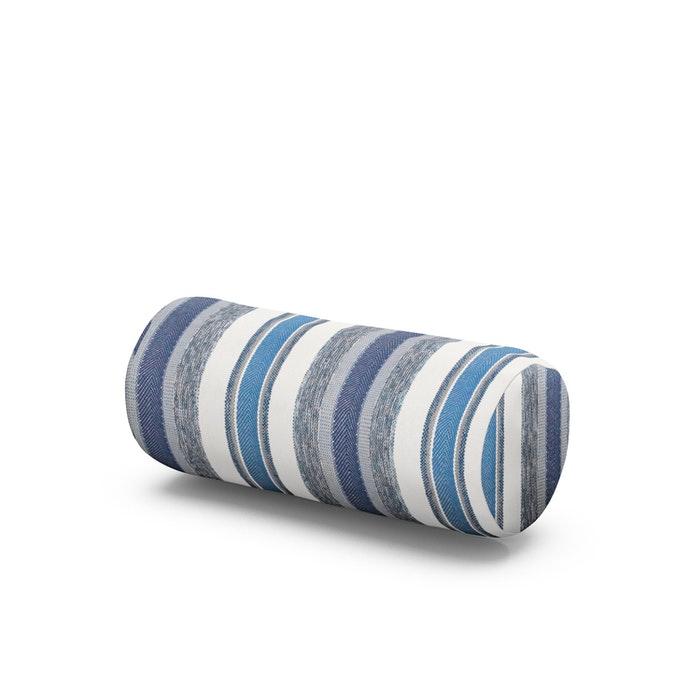 Outdoor Bolster Pillow in Hamptons Stripe
