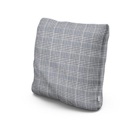 "20"" Outdoor Throw Pillow in Scottkins Houndstooth"