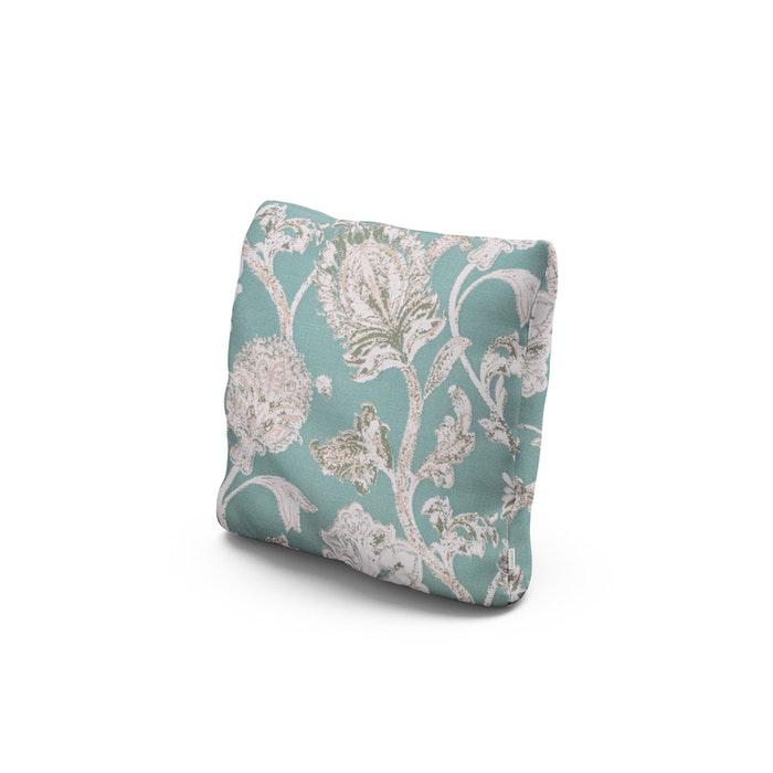 "16"" Outdoor Throw Pillow in Botanical Gardens Spearmint"