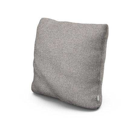 """20"""" Outdoor Throw Pillow in Grey Mist"""
