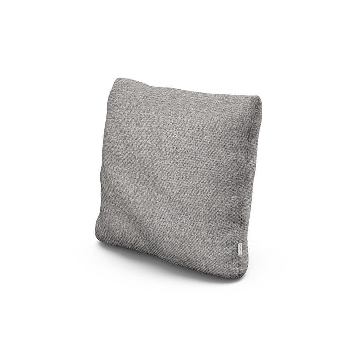 """18"""" Outdoor Throw Pillow in Grey Mist"""