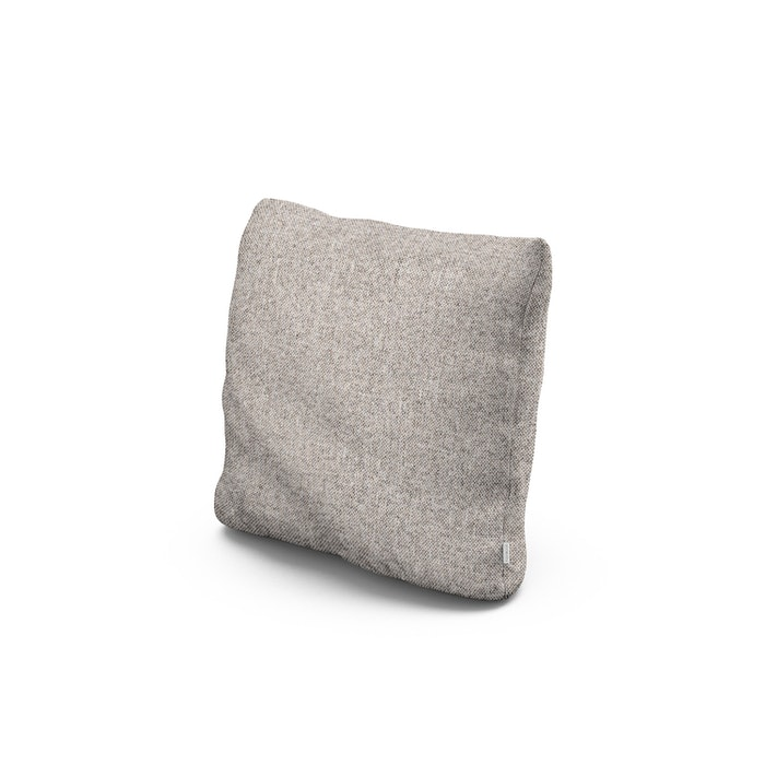 """16"""" Outdoor Throw Pillow in Weathered Tweed"""