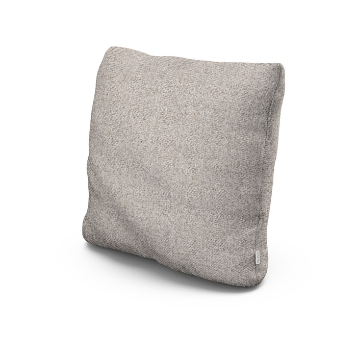 """20"""" Outdoor Throw Pillow in Weathered Tweed"""