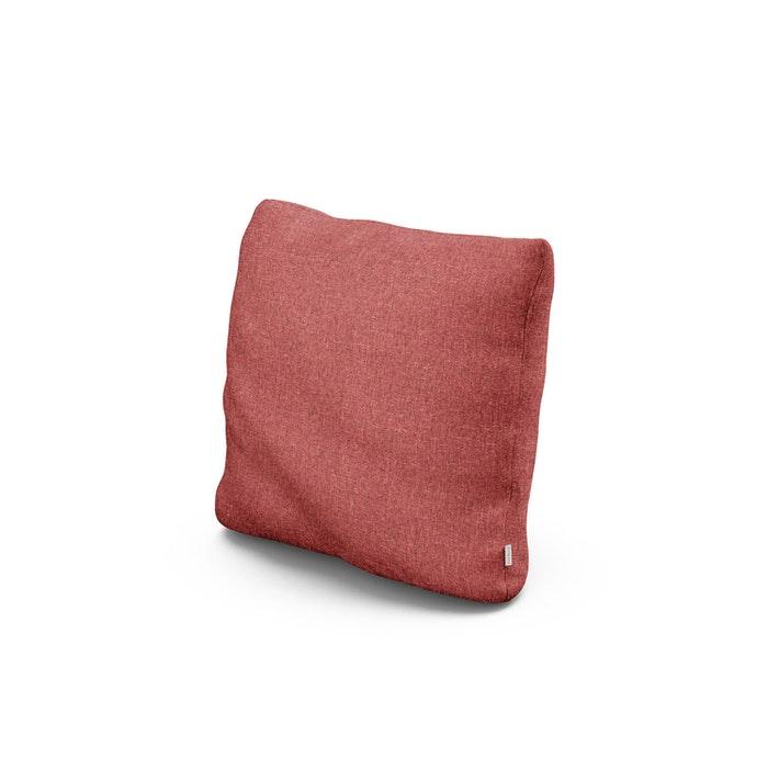 """16"""" Outdoor Throw Pillow in Silver Garnet"""