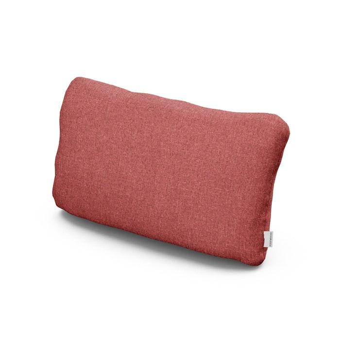 Outdoor Lumbar Pillow in Silver Garnet