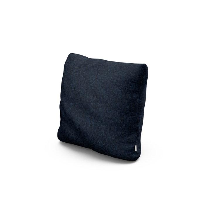 """16"""" Outdoor Throw Pillow in Marine Indigo"""