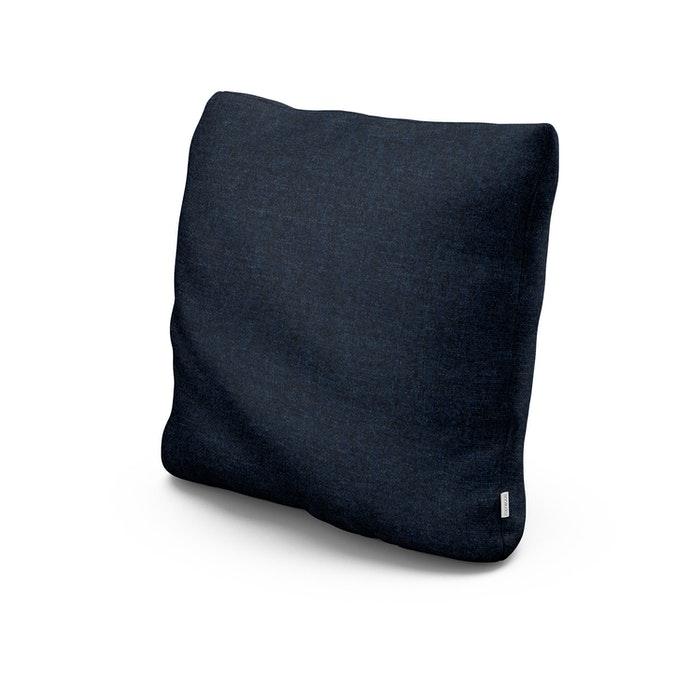 """20"""" Outdoor Throw Pillow in Marine Indigo"""
