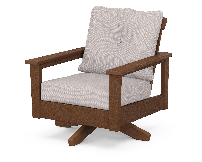 Prescott Deep Seating Swivel Chair