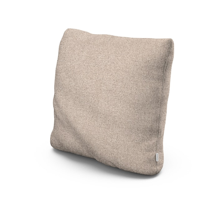 """20"""" Outdoor Throw Pillow in Wheat"""