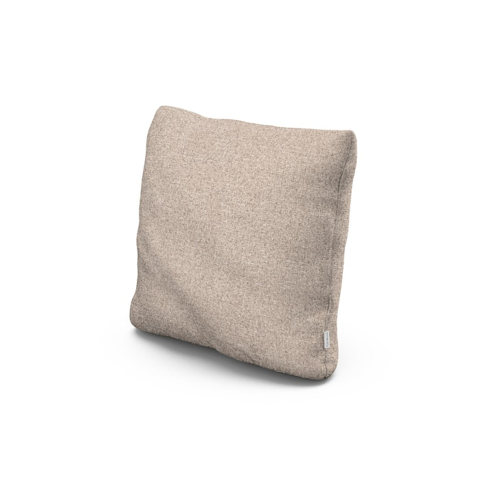 """18"""" Outdoor Throw Pillow in Wheat"""