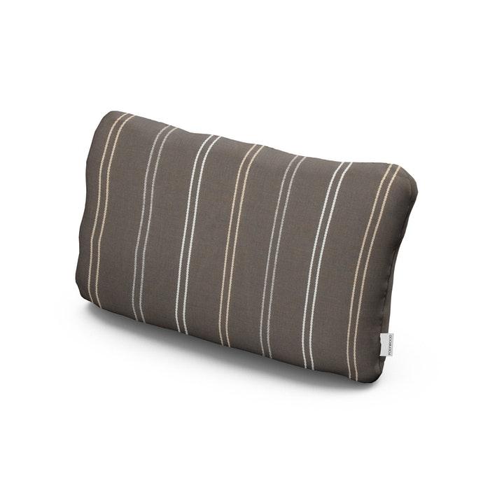 Outdoor Lumbar Pillow in Rustic High Tide