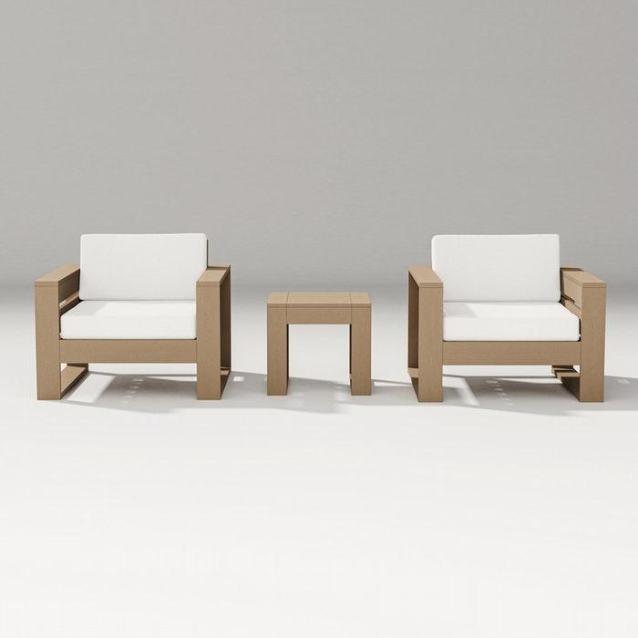 Latitude 3-Piece Lounge Chair Set