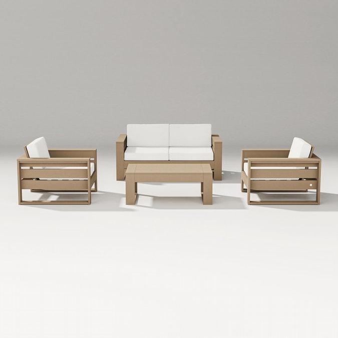 Latitude 4-Piece Lounge Loveseat Set