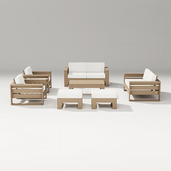 Latitude 7-Piece Lounge Loveseat Set