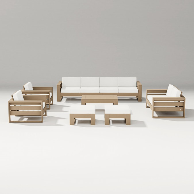 Latitude 8-Piece Lounge Sofa Set