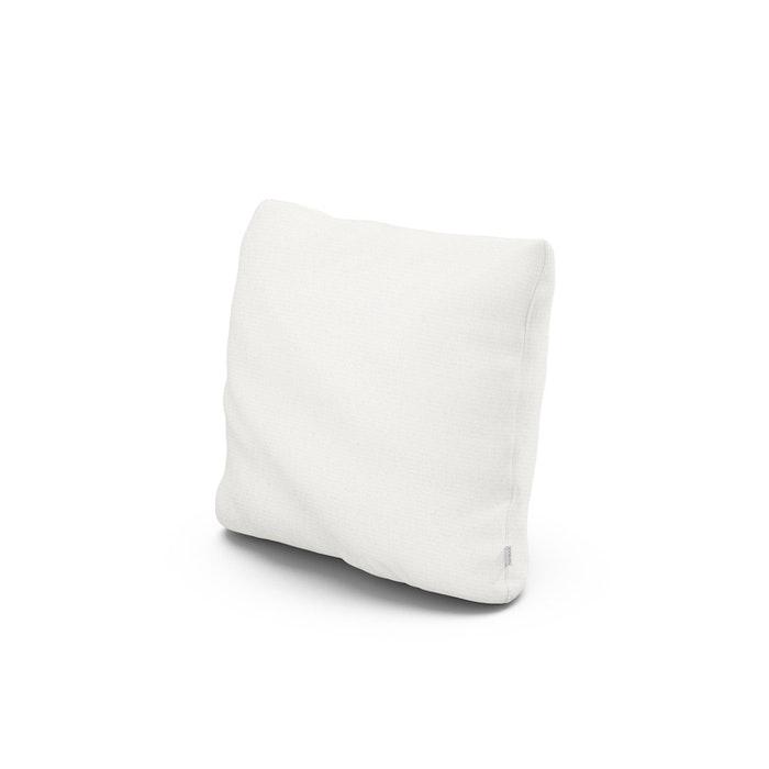 "16"" Outdoor Throw Pillow in Natural Linen"