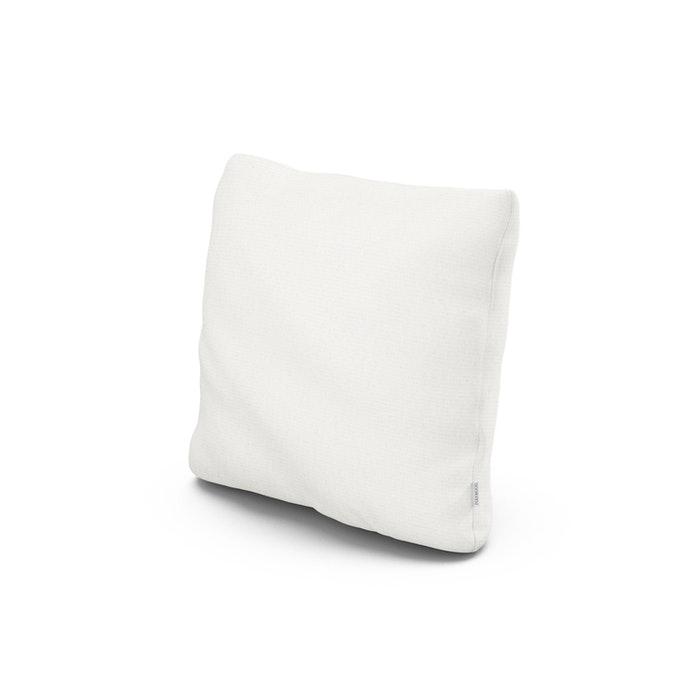 "18"" Outdoor Throw Pillow in Natural Linen"