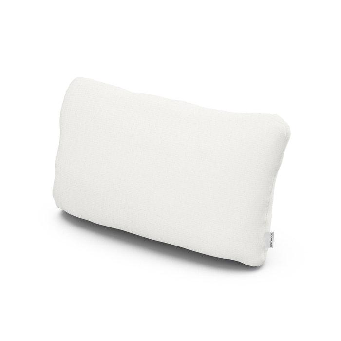 Outdoor Lumbar Pillow in Natural Linen