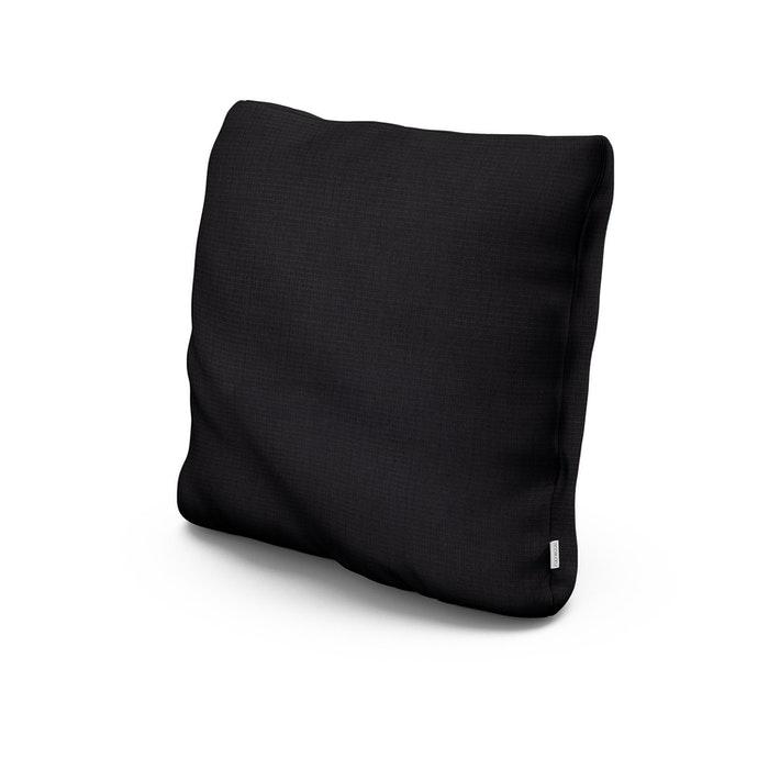 "22"" Outdoor Throw Pillow in Midnight Linen"