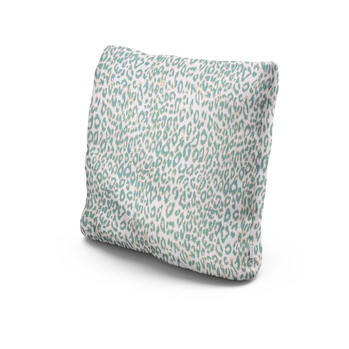 "20"" Outdoor Throw Pillow in Safari Spearmint"