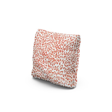 """16"""" Outdoor Throw Pillow by POLYWOOD® in Safari Coral"""