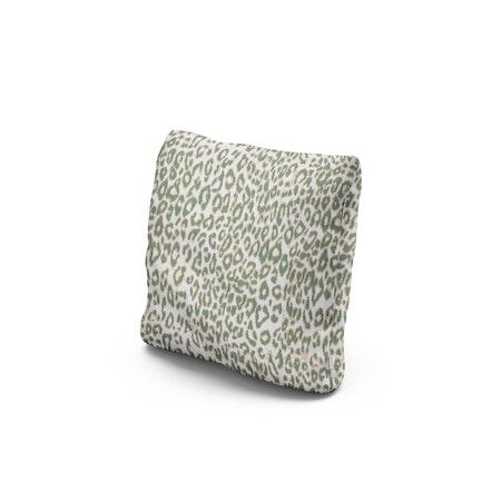 "16"" Outdoor Throw Pillow by POLYWOOD® in Safari Pistachio"