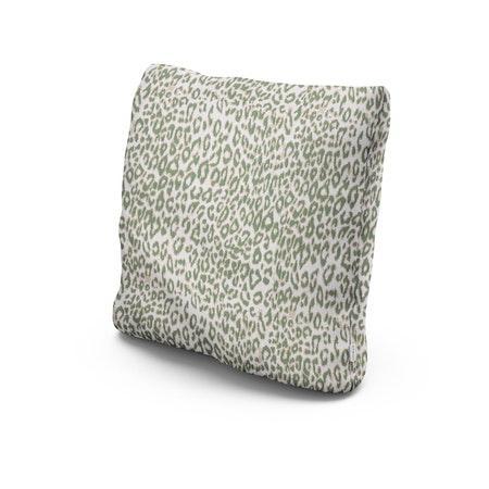 """20"""" Outdoor Throw Pillow in Safari Pistachio"""
