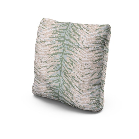 """22"""" Outdoor Throw Pillow in Wild Game"""
