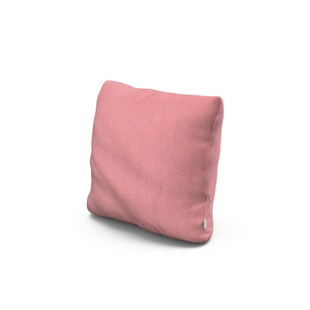 """16"""" Outdoor Throw Pillow by POLYWOOD® in Primary Colors Coral"""