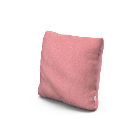 """18"""" Outdoor Throw Pillow in Primary Colors Coral"""
