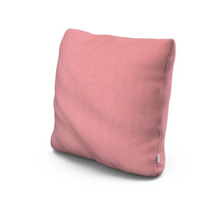 """22"""" Outdoor Throw Pillow in Primary Colors Coral"""