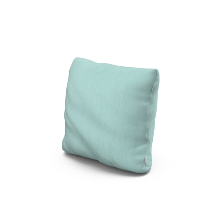 """16"""" Outdoor Throw Pillow in Primary Colors Teal"""
