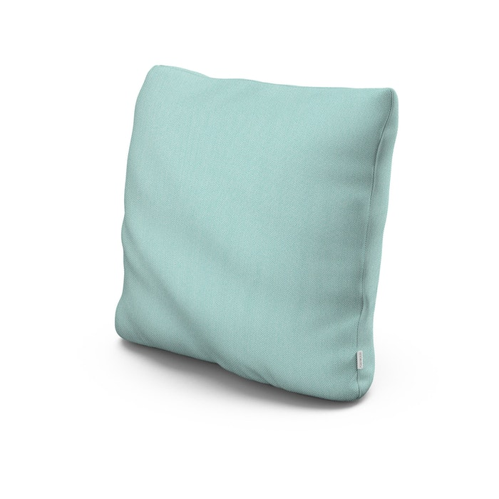 """20"""" Outdoor Throw Pillow in Primary Colors Teal"""