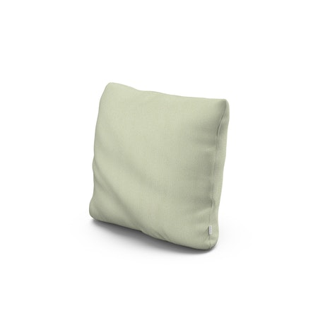 """16"""" Outdoor Throw Pillow by POLYWOOD® in Primary Colors Pistachio"""