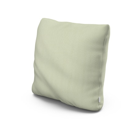 "22"" Outdoor Throw Pillow in Primary Colors Pistachio"