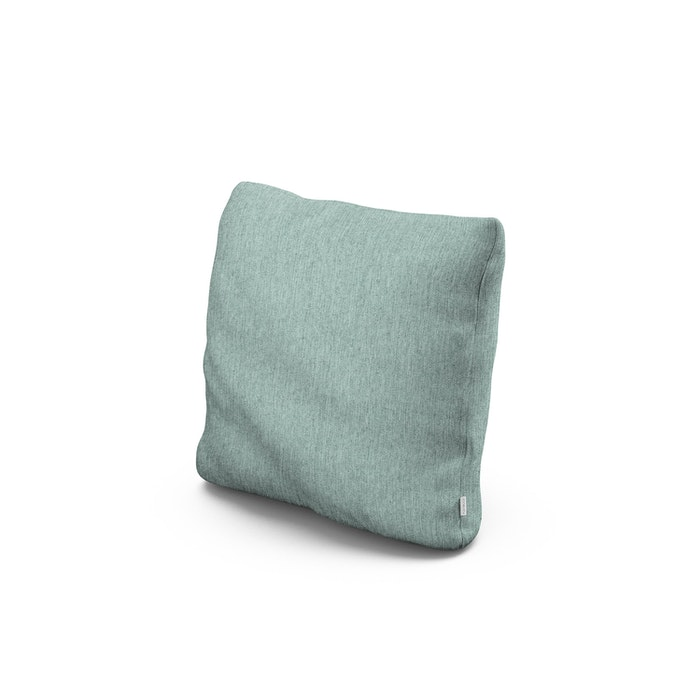 "16"" Outdoor Throw Pillow in Glacier Spa"