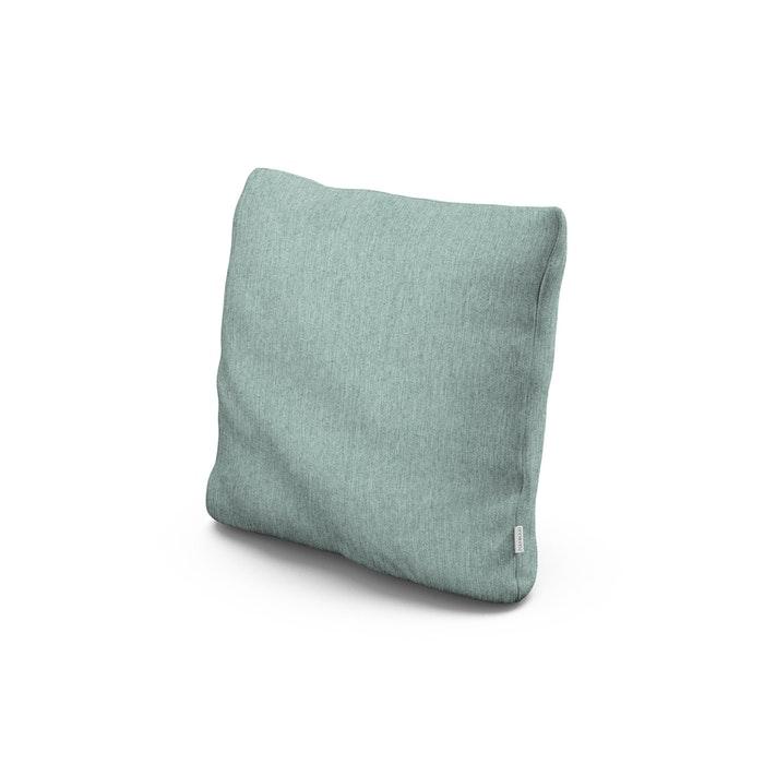 "18"" Outdoor Throw Pillow in Glacier Spa"