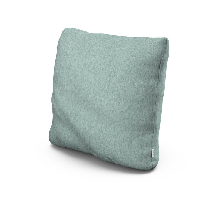 "22"" Outdoor Throw Pillow in Glacier Spa"